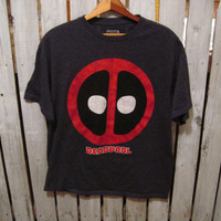 Marvel Comics Deadpool Retro T-Shirt, Size Large