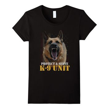 K-9 Unit Police Officer Law Enforcement T-Shirt LEO Off Duty