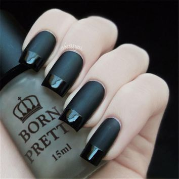 Super Matte Change Surface Glossy Oil Nail Polish Varnish