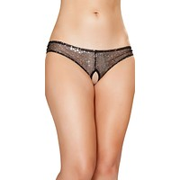 Sexy Galaxy Quest Lingerie Crotchless Panties
