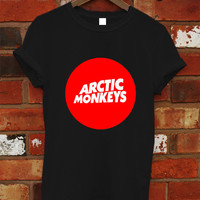 Arctic Monkeys Premium Tour Logo Shirt Black Men Women T-shirt RF-2