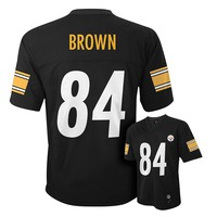 Pittsburgh Steelers Antonio Brown NFL Replica Jersey - Boys 8-20, Size: