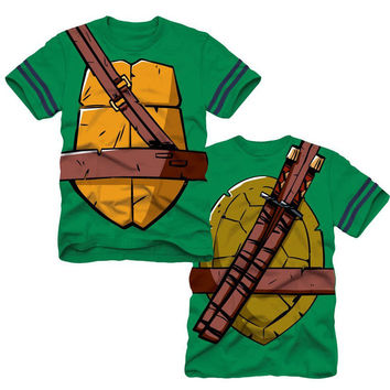 High Quality New Cartoon Teenage Mutant Ninja Turtles Baby Kids Boys Tops T-shirt Costume YY1336
