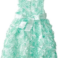Rare Editions Baby Baby Girls' Soutach Dress, Mint, 12 Months