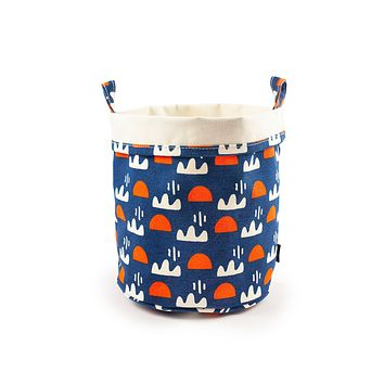 NEW!  Canvas Bucket - Himmel