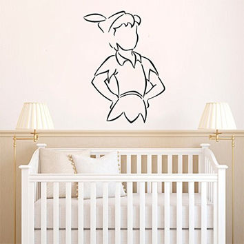 Peter Pan Vinyl Wall Decal Sticker Graphic