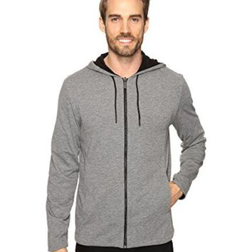 DCCK8BW Kenneth Cole New York Men's Reversible Hoodie Black X-Large