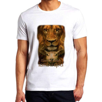 Lamb Of God Lion Of Judah Man T-Shirt