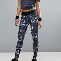 adidas Training All Over Graphic Leggings at asos.com