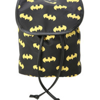 DC Comics Batman Logos Mini Slouch Backpack
