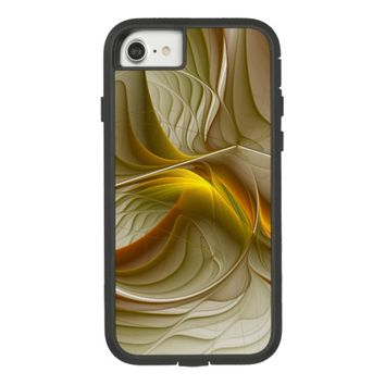 Colors of Precious Metals, Abstract Fractal Art Case-Mate Tough Extreme iPhone 7 Case