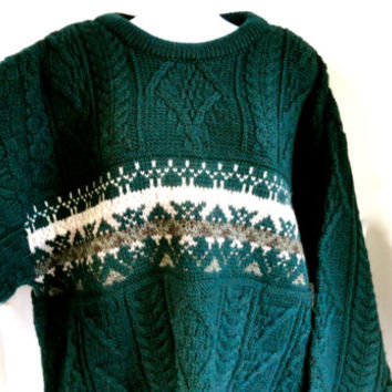 Men's Fisherman Sweater Arancrafts Ireland
