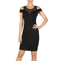 Guess Black Sleeveless Dress
