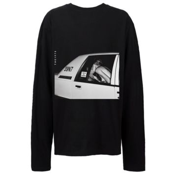 The 1975 Cab 39n7 - Mens Black Long Sleeve T-Shirt