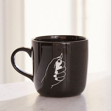 Hand Lighter Mug | Urban Outfitters