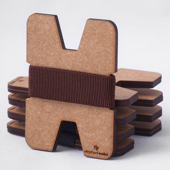 Minimalist Bathroom Women: Wood Wallet, Credit Card Holder, Men And From