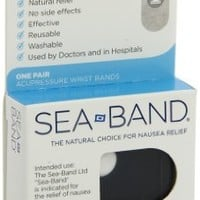 Sea-Band Wristband, Color May Vary, 1-Pair