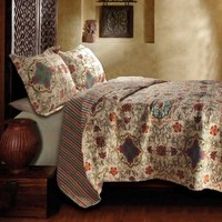 Greenland Home Esprit Spice Quilt Set, King