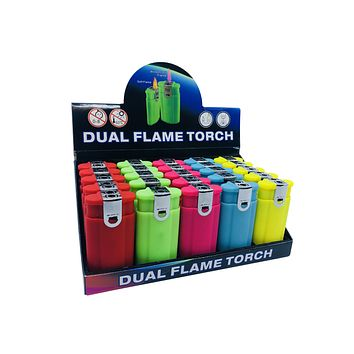 Dual Flame Lighter & Torch