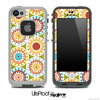 Vintage Circle Pattern Skin for the iPhone 5 or 4/4s LifeProof Case