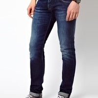 Pepe Jeans Cane Slim Fit Mid Wash at asos.com