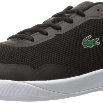 Lacoste Men's Light Spirit 117 1 Casual Shoe Fashion Sneaker Black 12 D(M) US '