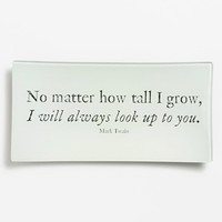Ben's Garden 'No Matter How Tall I Grow' Trinket Tray - Ivory