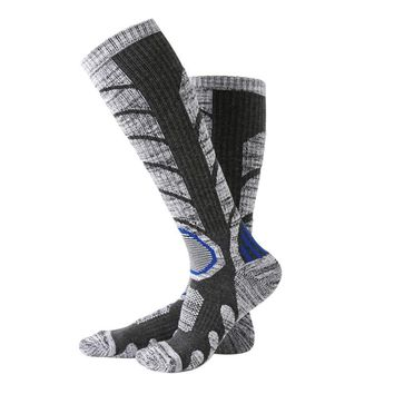 socks  Outdoor cycling socks Men's and Women's Compression Sports football Ski Running Soft Knee-High Sports Socks