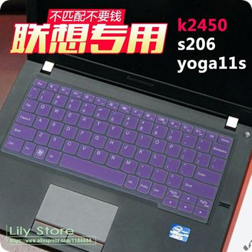 11 inch keyboard Silicone Keyboard Cover Protector Skin for for Lenovo Yoga 300 80M1003WIN Touch Laptop K20 100s miix 4 11.6