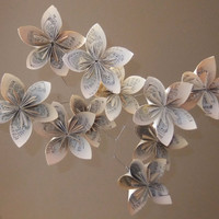 Musically Gifted Flower Mobile Upcycled