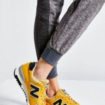 CREYONV new balance made in usa 1400 guitar pack collection running sneaker yellow