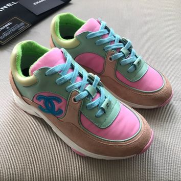 Double C Multi Color Sneaker