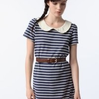 UrbanOutfitters.com > Pins and Needles Peter Pan Striped Tunic