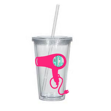 Hair Stylists Cup, Monogram,