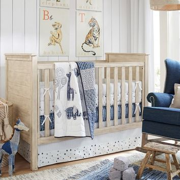 Organic Lawson Nursery Bedding | Pottery Barn Kids