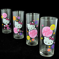Hello Kitty Drinking Glass Set