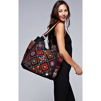 Kenya Love Stitch Tote Bag