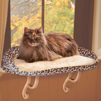 Deluxe Kitty Sill with Bolster