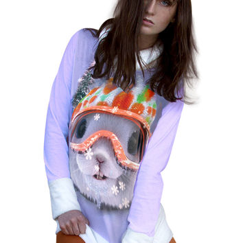 Snow Bunny Minky Turtleneck Sweater