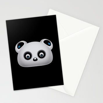 Panda Bear Stationery Cards by VanessaGF | Society6