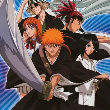 Shonen Jump Bleach Anime Cartoon Poster 24x36