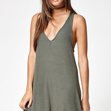 Kendall and Kylie Knit Tie Back Dress at PacSun.com