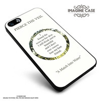 Pierce The Veil Song Lyrics case cover for iphone, ipod, ipad and galaxy series