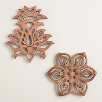 Caravan Copper Trivets, Set of 2 - World Market