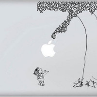 Macbook Decal Giving Tree Macbook Decals Macbook by taidecal