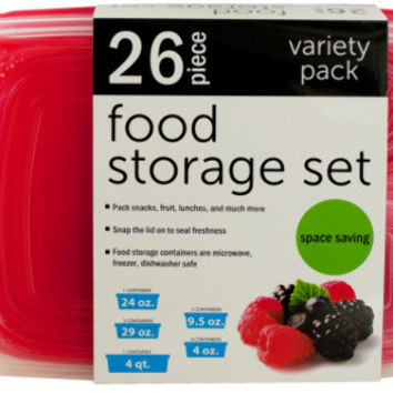 variety nesting food storage container set
