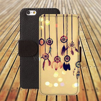 dreamcatcher dream catcher iphone 5/ 5s iphone 4/ 4s iPhone 6 6 Plus iphone 5C Wallet Case , iPhone 5 Case, Cover, Cases colorful pattern L024