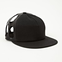 Rick Owens DRKSHDW Men's Black Combo 5-Panel Cap