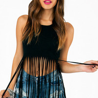 Cascading Crop Top $22
