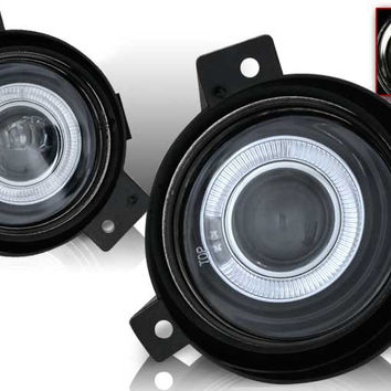 01-05 ford ranger halo projector fog light (clear) performance